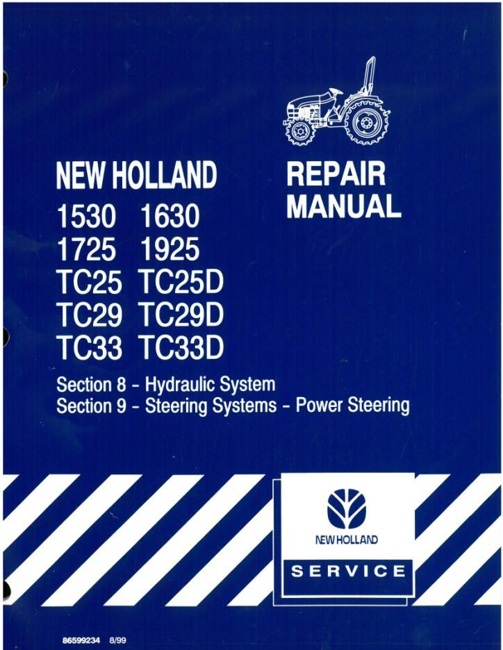 1925 new Holland Tractor manual New Holland Tc D Wiring Diagram on